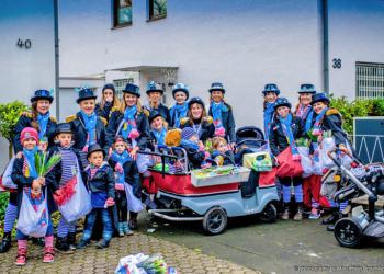 Karnevalszug in Rodenkirchen 2016