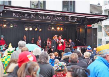 Straßenkarnevalseröffnung Maternusplatz 2016