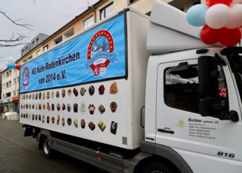 Karnevalszug in Rodenkirchen 2020